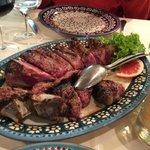 bistecca alla Fiorentina at Paoli