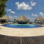 The best pool in Belize.
