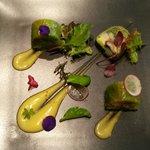 Salade aux légumes
