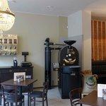 das Herz des Cafés, der Probat Kaffeeröster