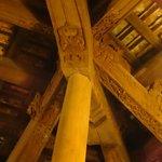 Magnifique plafond du restaurant