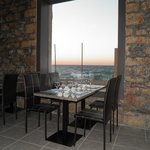dinner with the aegean breeze : priceless