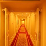 Hallways in the hotel, kind of reminded me of the Shinning! LOL