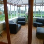 The Garden Suite's own conservatory