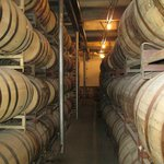 Barrel room at Stranahan's Distillery