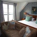 La Grande Dame suite showing balcony doors