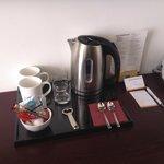 free teas at the room