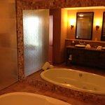 Jacuzzi Tub / Shower / Modern Sinks