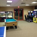 Game Room showing billiards (Inside Activity Center)