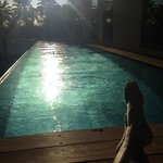 Relax by Pool at Sunset