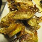 Sugerencia del día ( Chips crujientes de alcachofas)