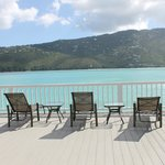 Little Sand Dollar - new deck overlooking Magen's Bay