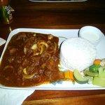 Spicy vidaloo