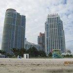 Playa y edificios