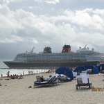 Playa y cruceros