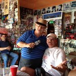 Dual Frank Sinatra singers for lunch entertainment.   