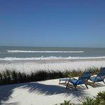 Placid, pristine beach front -- heaven!