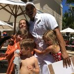 Carlos and the kids