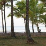 Pretty beach but rough water