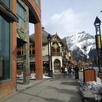 King Edward Hotel on Banff Ave.
