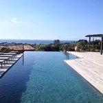 piscine les bergeries de Palombaggia