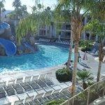 wishing the pool was warmer in Febuary...