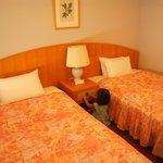 13.09.21【ホテル京セラ】ベッド