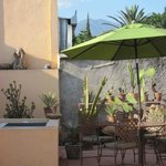 rooftop garden the Oaxaca Learning Center