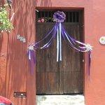 Easter doorway Oaxaca