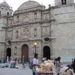 Cathedral near Zocolo in Oaxaca