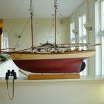 Looks like a model boat