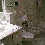 White marble bathroom from the 80's!