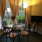 sunny dinning room