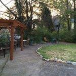 pegola/ garden area
