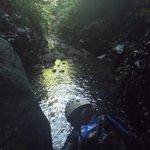 Jump in Boetica river