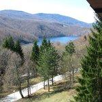 Lake - view from Hotel Jezero