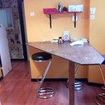 Esta es la recepción, pasillo, cocina y comedor....this is the reception, living room, corridor,