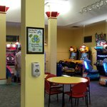 arcade - even dad played some games!