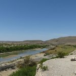 Looking across to Boquillas, Mexico