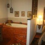 Sumeria Room - bathtub aside the bed