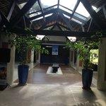 corredor recepção