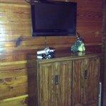 Dresser/TV in bedroom