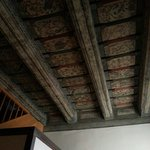 Beautiful original ceiling