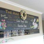 Inside ' The Haversham Tavern' Restaurant