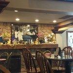 Inside 'The Haversham Tavern' Restaurant.  Cute place!