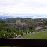 View from room balcony