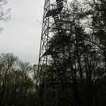 Tower outside of trail