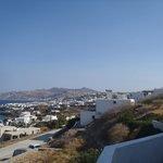 Looking toward Mykonos Town