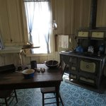 Boyhood home's kitchen