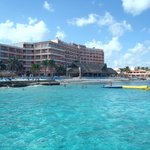 Hotel from the pier.